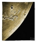 Moon, Apollo 16 Mission Fleece Blanket