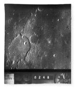 Moon: Ranger 7, 1964 Fleece Blanket