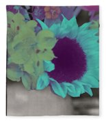Moonflower Fleece Blanket