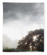 Morning Sunlight  Fleece Blanket