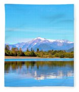 Mount Shuksan Fleece Blanket