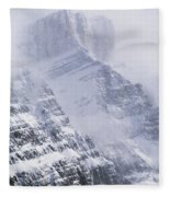 Mt. Chephren, Banff National Park Fleece Blanket