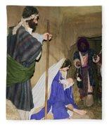 Nativity Fleece Blanket