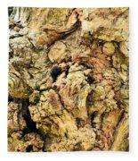 Natural Abstract 44 Fleece Blanket