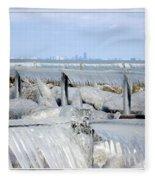 Natures Ice Sculptures 12 Fleece Blanket