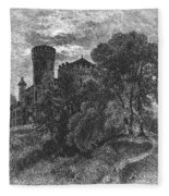 New York State: Castle Fleece Blanket