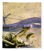 Northern Water Snake Fleece Blanket