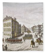 Occupied New York, 1776 Fleece Blanket