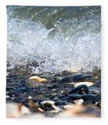 Ocean Stones Fleece Blanket