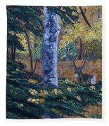 #1 Of A Triptych Fleece Blanket