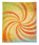 Old Grunge Paper Fleece Blanket