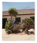 Old Town San Diego Fleece Blanket