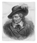 Oliver Cromwell, English Political Fleece Blanket