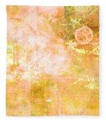 Orange Peel Fleece Blanket