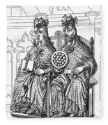 Otto I (912-973) Fleece Blanket