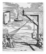 Otto Von Guericke, 1672 Fleece Blanket