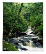 Owengarriff River, Killarney National Fleece Blanket