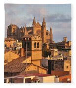 Palma De Mallorca Fleece Blanket