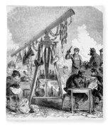 Paris Commune, 1871 Fleece Blanket