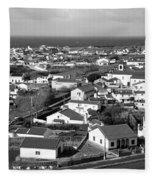 Parish In The Azores Fleece Blanket