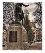 Paul Revere-statue Fleece Blanket