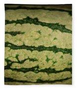 Peripheral Streak Image Of Watermelon Fleece Blanket