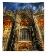 Peterborough Cathedral Fleece Blanket