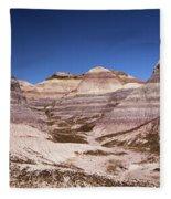 Petrified Forest Blue Mesa Fleece Blanket