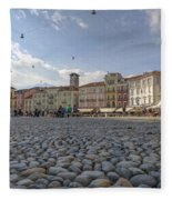 Piazza Grande - Locarno Fleece Blanket