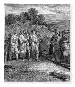 Pilgrims: Massasoit Fleece Blanket