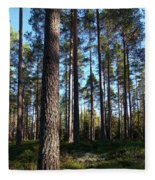 Pine Forest Fleece Blanket