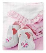 Pink Baby Clothes For Infant Girl Fleece Blanket