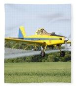 Plane Fleece Blanket