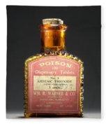 Poison, Circa 1900 Fleece Blanket