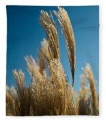 Pompas Grass 1 Fleece Blanket