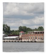 Port Of Rochester Fleece Blanket
