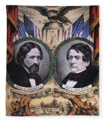 Presidential Campaign, 1856 Fleece Blanket