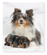 Puppy Pals Fleece Blanket