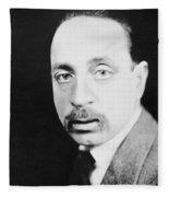 Rainer Maria Rilke Fleece Blanket