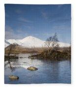 Rannoch Moor - Winter Fleece Blanket