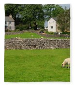 Ravenstonedale Cumbria Fleece Blanket