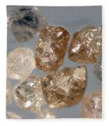 Raw Diamonds Fleece Blanket