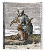 Recorder, 1723 Fleece Blanket