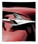 Red Chevy Jet Fleece Blanket