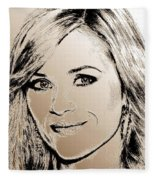 Reese Witherspoon In 2010 Fleece Blanket