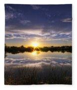 Reflections Of Beauty  Fleece Blanket