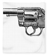 Revolver, 19th Century Fleece Blanket