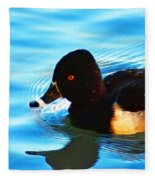 Ringbill Duck Fleece Blanket