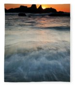 Rising Tide Fleece Blanket