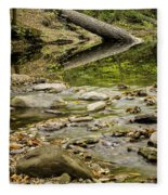 River Reflections Fleece Blanket